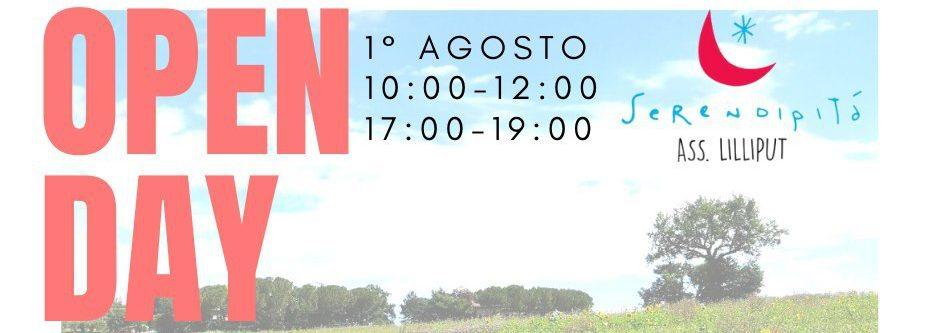 Open Day – 1° Agosto 2020